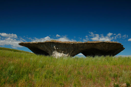 """The Domo"" at the Tippet Rise Art Center, Montana, Fishtail"