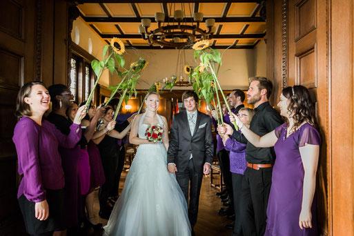Standesamt Wittenberge mit Hochzeitsfotografen