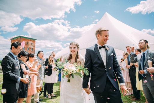 Ganztagesreportage einer Hochzeit in der Alten Ölmühle Wittenberge