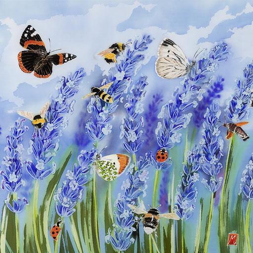 english garden art botanical floral
