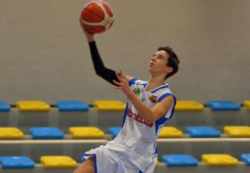Lorenzo Fruttero, per lui 19 punti - Guido Fissolo ph.