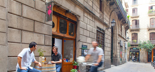 Rasoterra Bistrot Vegetarià am Carrer Palau, 5. Barcelona