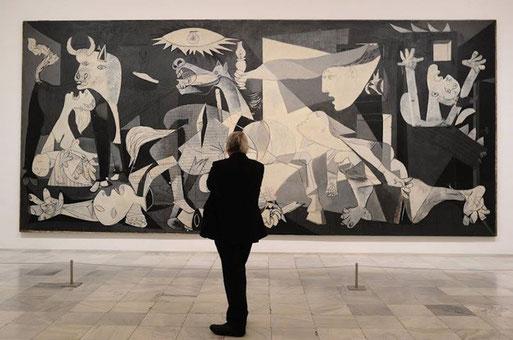 "Pablo Picasso, ""Guernica"" (1937)"