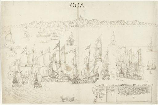 Slag bij Goa, collectie Rijksmuseum