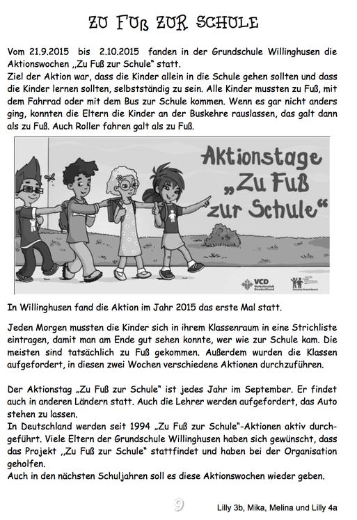 Schülerzeitungsbeitrag aus der Ausgabe Juli 2016