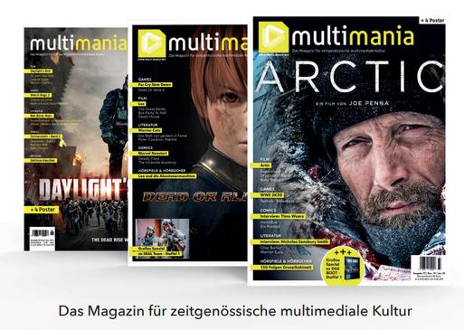 Cover Multimania Magazin