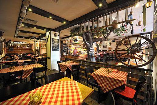 Impression unseres Restaurants Edel Weiss