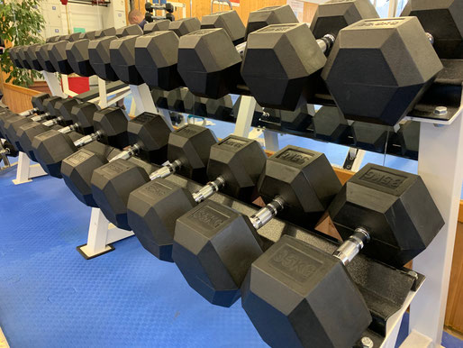 Krafttraining im Old School Fitness Studio Wattwil