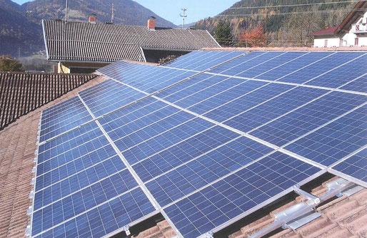 Photovoltaikanlage 20 kWp am Kulturhausdach