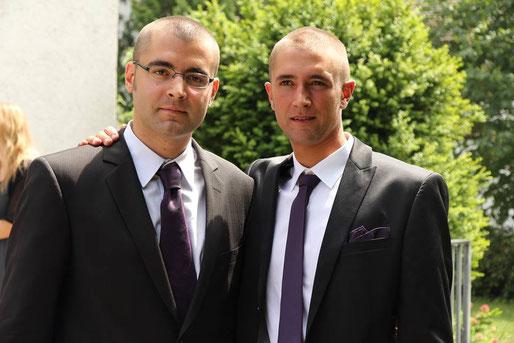 Silvan mit seinem Bruder