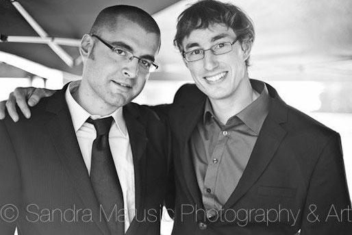 Silvan (links) mit seinem Freund Adrian