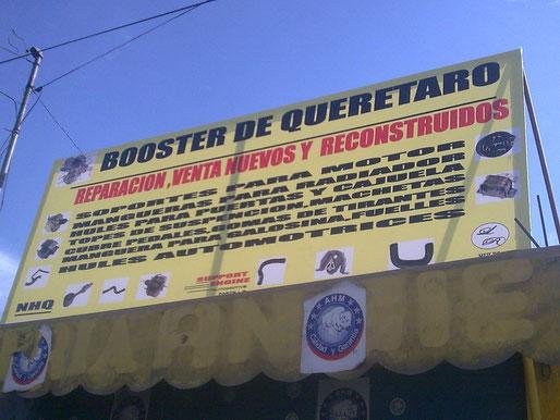 REPARACION DE BOOSTER DE QUERETARO
