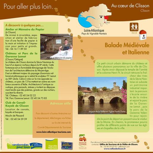 Clisson ville médiévale et Italienne