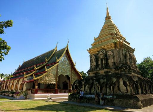 Einer der zahlreichen Tempel in Chiang Mai