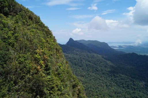 Blick über die Insel Langkawi
