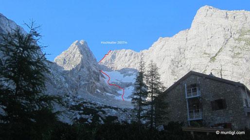 Blaueishütte 1680m