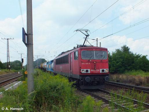 Im Einsatz war die Maschine am 16. Juli 2014 in Leipzig-Thekla zu sehen
