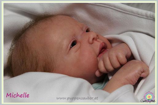 Michelle, Evelina Wosnjuk, Rebornbaby, Newborn, Reborndoll