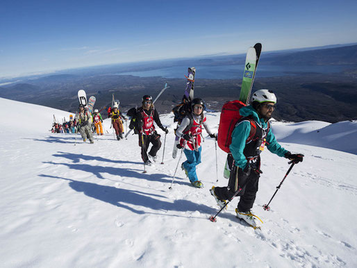 Learn Spanish in Pucon Activity Package Volcano Villarrica Rafting