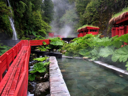 Learn Spanish in Pucon Spa Package Hot Springs