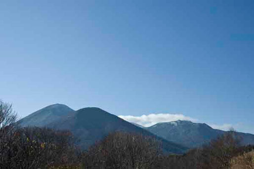 11月10日 八甲田山山頂には雪が積もっていました