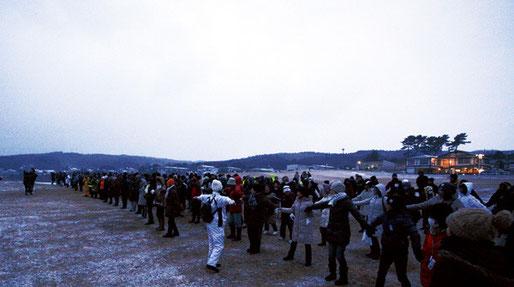 300人ほどの参加があった。遠くは東京・秋田・弘前・むつ市・青森市などからも参加がありました。