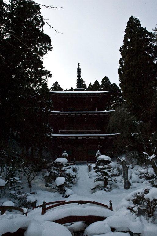 日本一の三重塔もあります