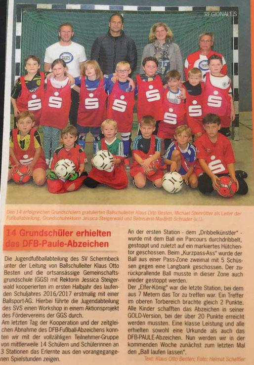 """Bericht in der Februar Ausgabe von """"Life - das Magazin"""" aus der Region"""