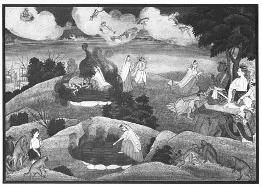 Anklage, Feuerprobe und Rettung Sitas