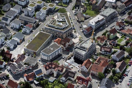 """Die """"neue Mössinger Mitte""""  .Juni 2018"""