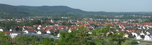 Panoramabild Mössingen