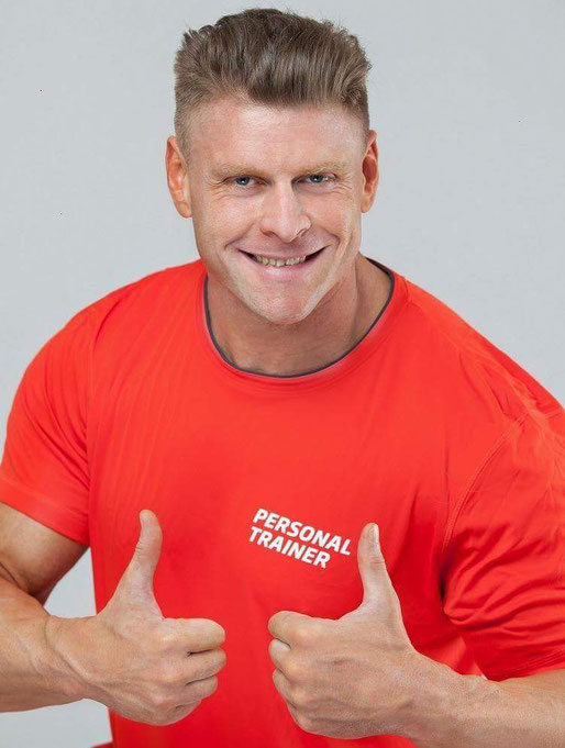 Personaltrainer Bogdan Perevertailo Portrait