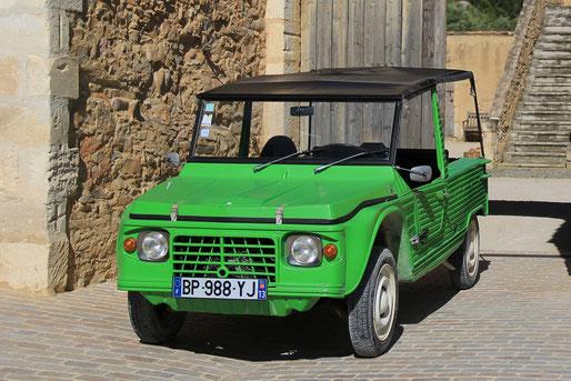 Location de cabriolets vintage en Provence : Citroën Mehari