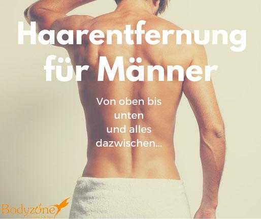 Haarentfernung, Männer, Intimwaxing, Basel