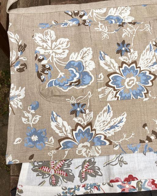 tablier de jardinage coton bio