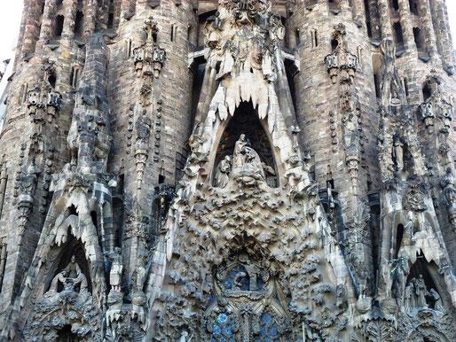 Святые Храма Святого Семейства в Барселоне