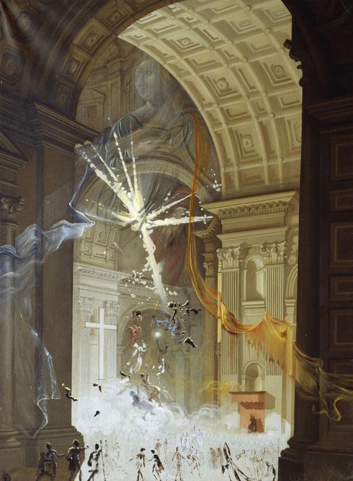 Сальвадор Дали. Базалика Святого Петра. Взрыв мистической веры в центре собора