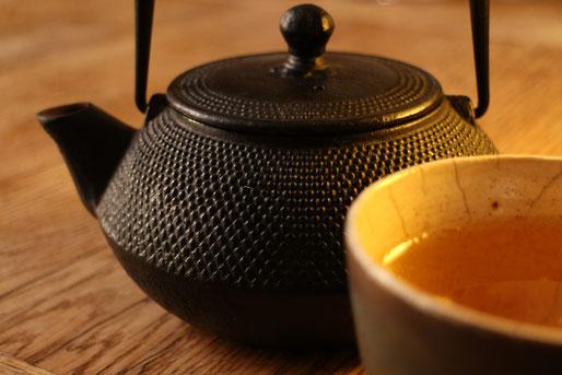 Teekanne für Gunpowder Tee