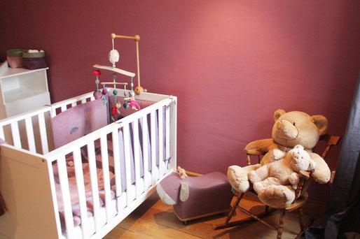 chambre bébé fille chic