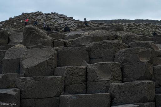 Irlande du Nord, Chaussée des Géants sur la côte d'Antrim