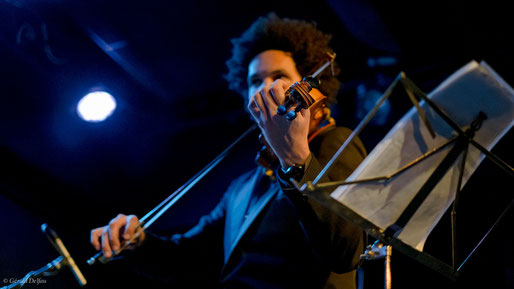 Paris, Petit Journal Montparnasse, le Violoniste de Jazz, Scott Tixier