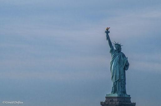 New York, Statue de la Liberté