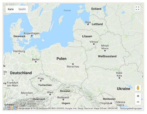 Quelle: http://www.info-polen.com/landkarte-polen/  (Anklicken für eine interaktive Karte.)