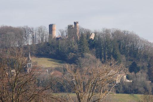Château et village de Bressieux XIIIe siècle