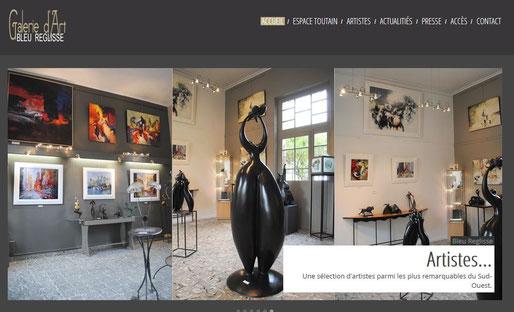 Galerie Bleu Reglisse, Espace Toutain, Exposante Mathilde L'Huillier, mosaïste plasticienne