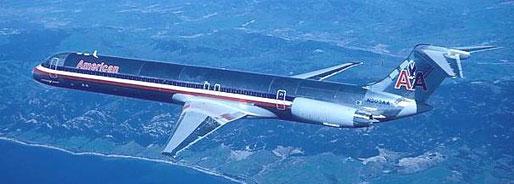 Frühe Aufnahme einer Super 80/Courtesy: McDonnell Douglas