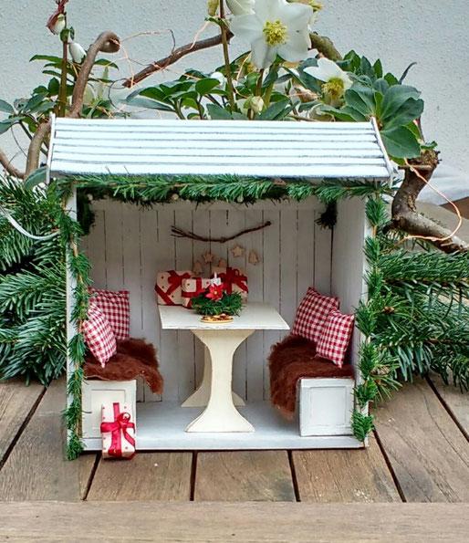 Miniatur-Weihnachtsdeko