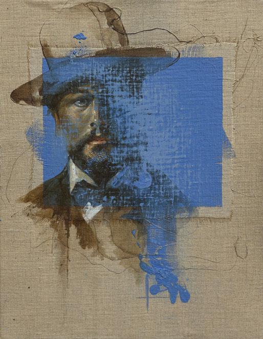 Frédéric Martin, artiste peintre, dessin, anatomie, homme, portrait, peinture contemporaine, peinture à l'huile