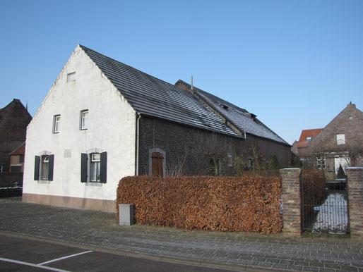 boerderij Beekstraat 8 Wessem, rijksmonument. bouwhistorisch fiscale aftrek onderhoud