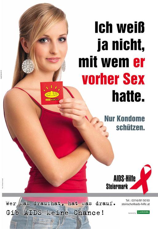 Aids Hilfe Plakatkampagne © Michael Schnabl